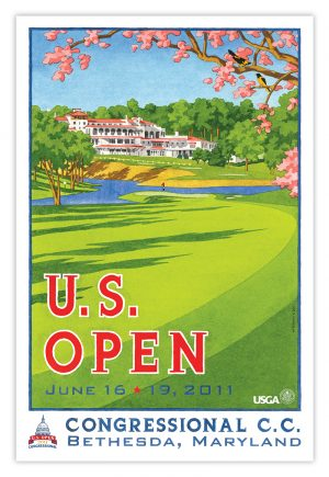 2011 U.S. Open (2) Congressional Country Club