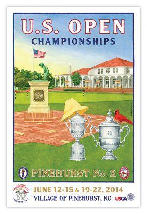 2014 U.S. Opens (3) Pinehurst No. 2