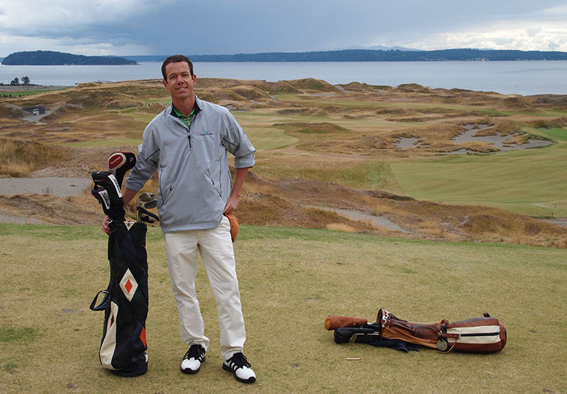 Lee at Chambers Bay