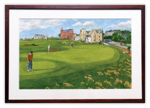 The Road Hole at The Old Course, St Andrews