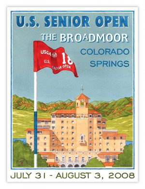 2008 U.S. Senior Open - The Broadmoor