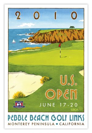 U.S. Open Pebble Beach Poster