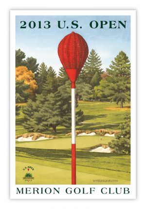 2013 U.S. Open - Merion Wicker