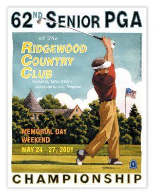 2001 Senior PGA Championship - Ridgewood CC