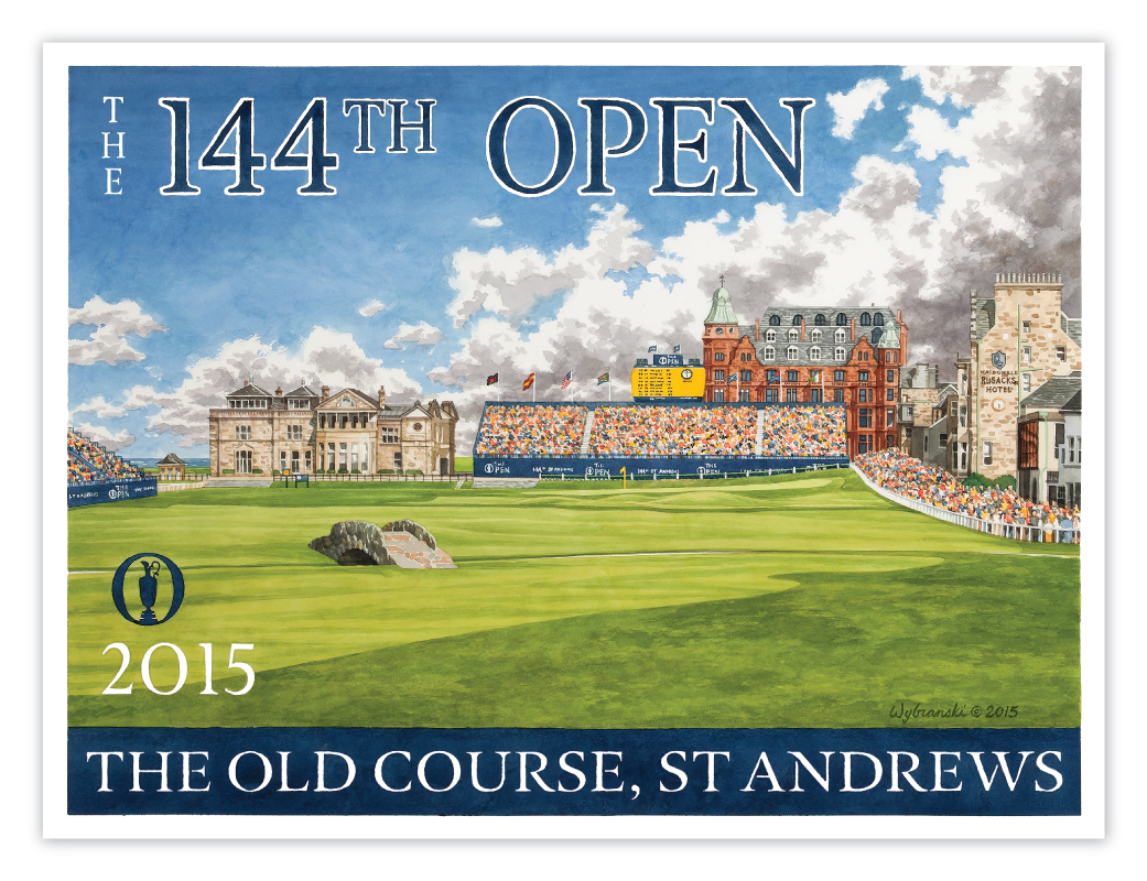 2015 Open Championship - The Old Course, St Andrews