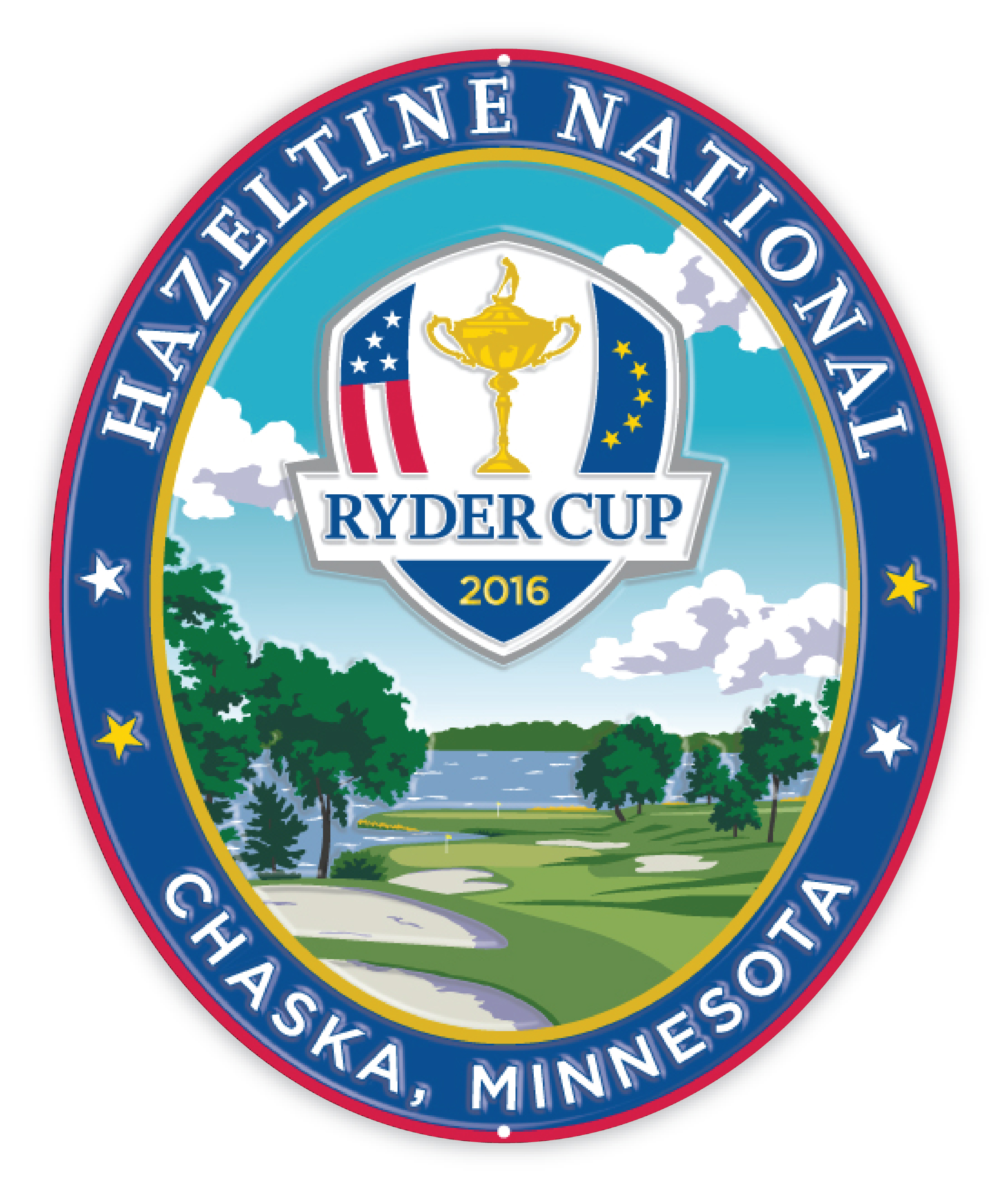 2016 ryder cup hazeltine national pub sign lee wybranski. Black Bedroom Furniture Sets. Home Design Ideas
