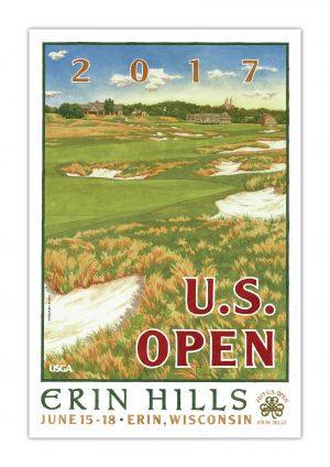 2017 U.S. Open Poster