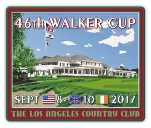 46th WALKER CUP_PUB SIGN_EMBOSSED EFFECT