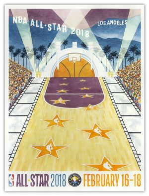 2018 NBA All Star Poster_Small Version